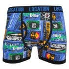 Mens 6 Pack Location Boxer Shorts Trunks Gift Underwear Cotton Boxers